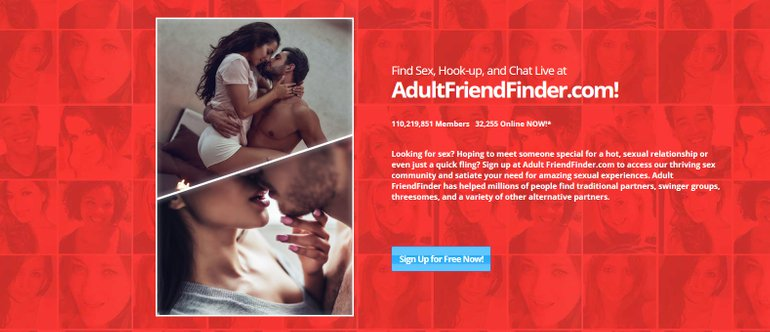 Adult Friend Finder site review